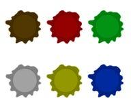 Manchas de óxido Imágenes de archivo libres de regalías