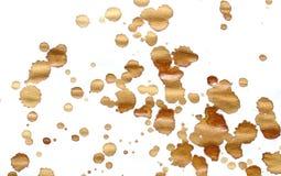 Manchas de óxido del café imágenes de archivo libres de regalías