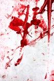 Manchas de óxido rojas Foto de archivo libre de regalías