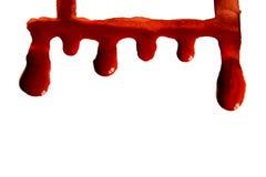 Manchas de sangue Foto de Stock