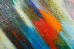 Manchas do resumo de uma pintura escura da aquarela na lona Fotos de Stock