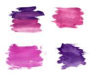 Manchas violetas Foto de archivo libre de regalías