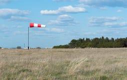 Manche à air de drapeau de vent Image libre de droits