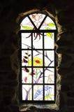 Manche o detalhe de vidro em bispos fortificam em Colorado Foto de Stock Royalty Free