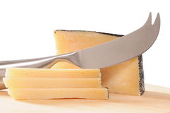 Manchego cheese. Royalty Free Stock Photos