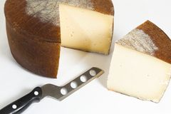 Manchego cheese Royalty Free Stock Images
