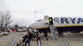 Manchester Airport stock video footage