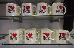 Manchester-Andenken Lizenzfreie Stockbilder