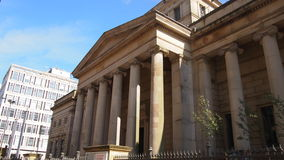 Manchester Art Gallery, Northern England. The Manchester City Art Gallery in Great Britain Stock Photography