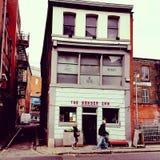 Manchester bar Arkivfoton