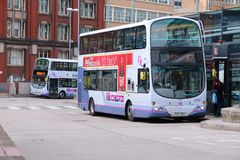 Manchester buses Stock Photos