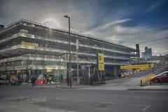Manchester busstation Royaltyfri Fotografi