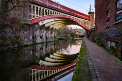 Manchester canal England Stock Photo