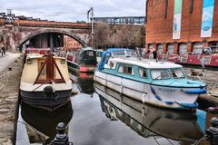 Manchester canal Royalty Free Stock Images