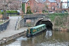 Manchester canal Stock Photography
