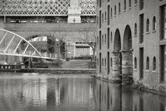 Manchester canals Stock Photography