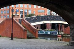 Manchester canals Royalty Free Stock Photography