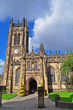 Manchester cathedral. The Cathedral in Manchester,Northern England Royalty Free Stock Images