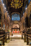 Manchester Cathedral choir Stock Images