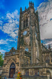 Manchester Cathedral Stock Photo