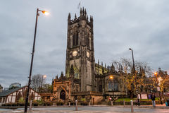 Manchester Cathedral A Stock Image