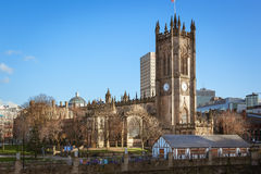Manchester Cathedral, Manchester, UK Royalty Free Stock Photo