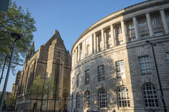 Manchester Central Library. On a summers day Royalty Free Stock Photos