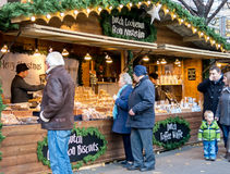 Manchester Christmas Markets, England Royalty Free Stock Photography