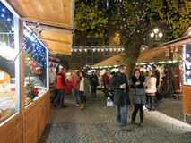 Manchester Christmas Markets, England Royalty Free Stock Photos