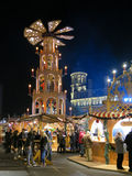 Manchester Christmas Market Fair, England Royalty Free Stock Photo