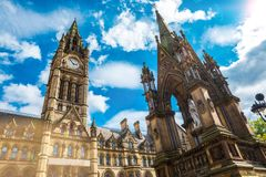 Manchester church Royalty Free Stock Images