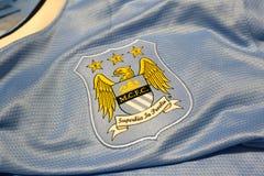 Manchester city emblem. Royalty Free Stock Photos