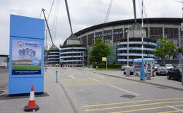 The Manchester City Etihad stadium Royalty Free Stock Photography
