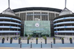 The Manchester City Etihad stadium Stock Photos