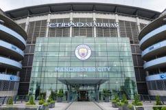 The Manchester City Etihad stadium Stock Images