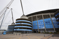Manchester City Football Club stadium.