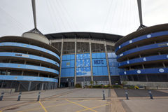 Manchester City Football Club stadium. Royalty Free Stock Photography