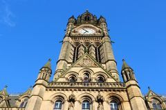 Manchester. City in North West England (UK). City Hall Stock Photo