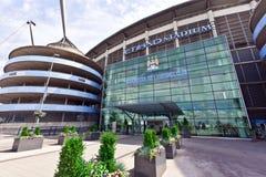 Manchester City stadion Arkivbild