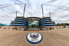 Manchester City stadium. Royalty Free Stock Photo