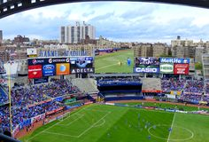 Manchester City vs Chelsea. Image from the friendly between Manchester City and Chelsea, May 25, 2013 Stock Photo