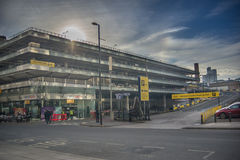 Manchester coach station Royalty Free Stock Photography
