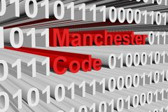 Manchester code Stock Photo