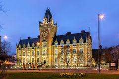 Manchester college campus. Former hospital build in 1881 now used as mancheste college campus. One of the beautiful buildings in Manchester Royalty Free Stock Image