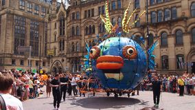 Manchester Day Parade. Parade 2014 on Albert Square in Manchester, England Stock Photo