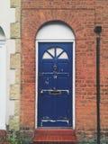 Manchester door. Door in Manchester summer England Royalty Free Stock Photos