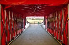 MANCHESTER ENGLAND: Gammal Trafford stadion Arkivbilder