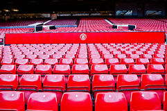 MANCHESTER, ENGLAND : Old Trafford stadium Stock Images