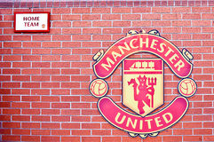 MANCHESTER, ENGLAND : Old Trafford stadium Royalty Free Stock Image