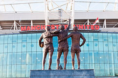 MANCHESTER, ENGLAND : Old Trafford stadium Stock Photo